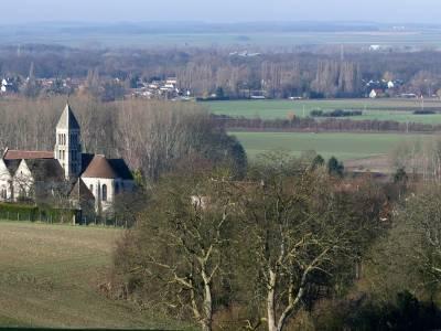 Département de l'Oise est à proximité de l'ile de France
