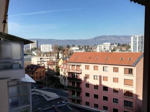 Chambéry Appartement vue exceptionnelle en dernier étage
