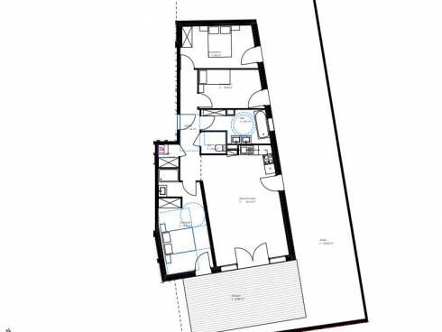 Ecully 69 bel appartement en rez de jardin de 85 m²