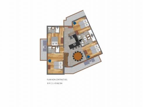 Appartement Saint-Martin-de-Belleville Centre - Saint-Martin-de-Belleville TROLLES