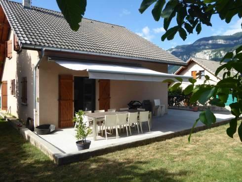 Chambéry, belle maison de 120 m² habitables beau jardin