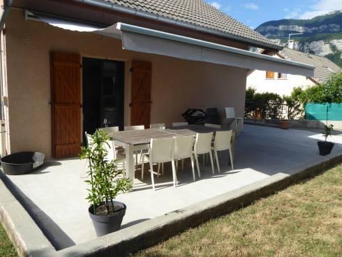 Chambéry/ Sonnaz, belle maison de 120 m² habitables beau jardin