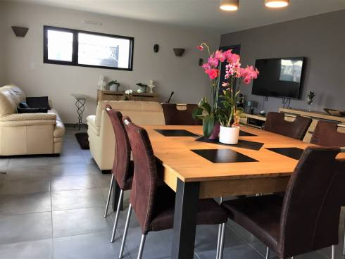 Maison plain-pied de 2018 à AMBON  Morbihan Sud