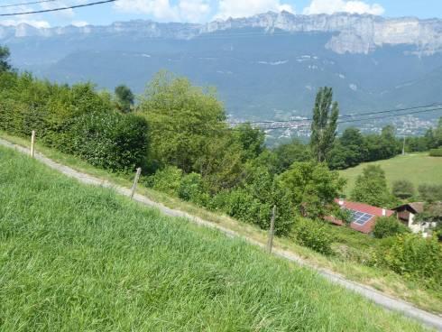 Crêts en Belledonne, proche Froges, terrain constructible belle vue