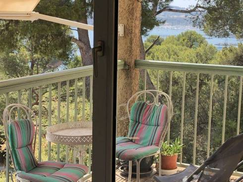 Tamaris. Appt F4 avec Terrasse et Parking - Vue Mer