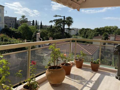 Viager Occupé Cannes - Appt F4 avec terrasses et Garage double