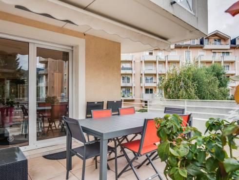 Barberaz, belle terrasse de 26 m² pour ce bel appartement de 86 m²