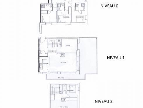 Appartement Saint-Martin-de-Belleville Centre - Saint-Martin-de-Belleville BALCONS DE ST MARTIN