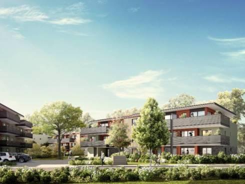 Dernier étage terrasse - Vente d'un appartement 4 pièces (95.39m²)  dans programme neuf à THONON LES BAINS