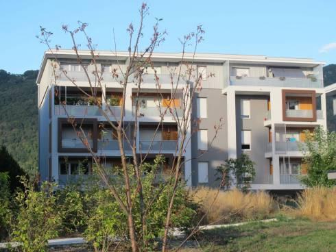 La Ravoire, appartement T2 de 41,50 m² en RDJ avec garage