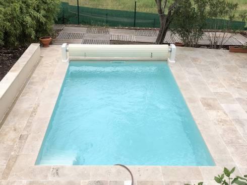 Maison T4 avec piscine.