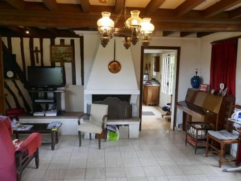 Villa Normande f4,Dozulé,14130,Calvados,Proche Deauville et Cabourg, Viager Occupé ,Dame de 77 ans