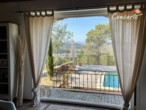 Villa de charme avec vue panoramique