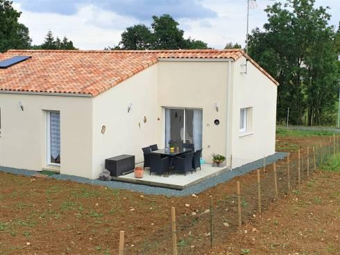 Maison récente en VIAGER occupé, en Vendée à CHANTONNAY