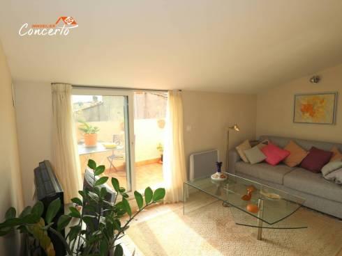 Appartement T2 avec terrasses