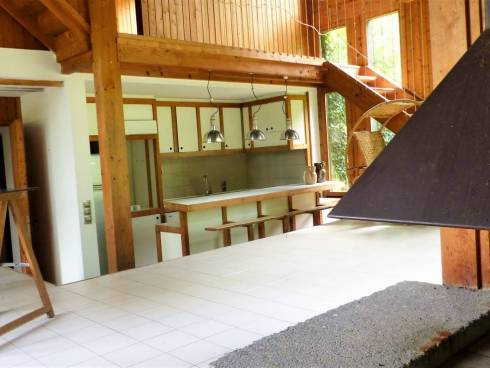 Myans chambéry maison verdure