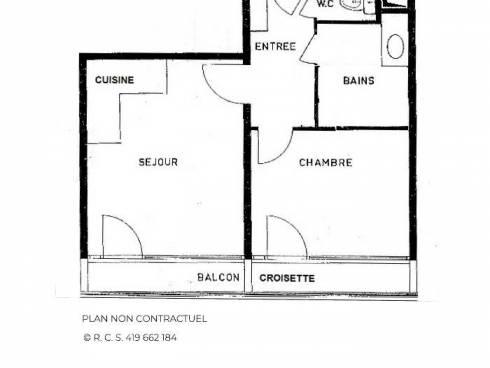 Appartement Les Menuires La Croisette - Les Menuires LAC DU LOU