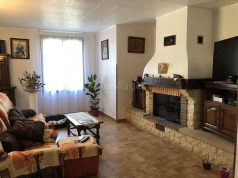Villa 137m² + RDJ + 2 Garages sur 1205m² - Vue dominante