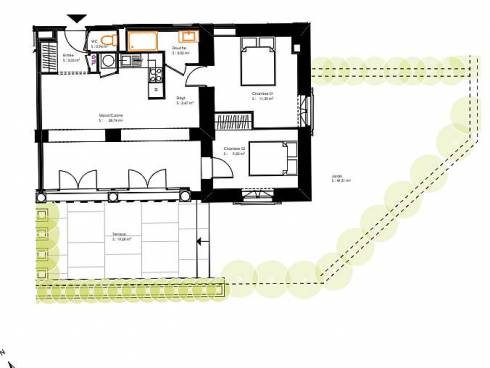 Ecully, bel appartement T3