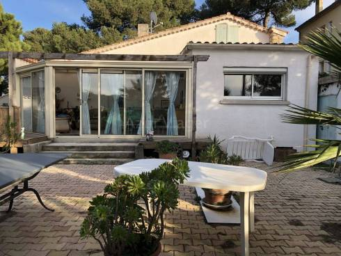 Villa F3 sur 650m² à 5mn à pied Plage et Port de Hyères
